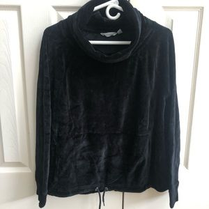 Athleta Velour Pullover